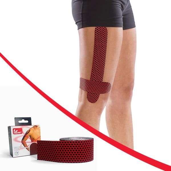 Kinesiology tape stretch